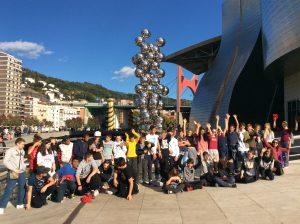 voyage Espagne 3èmes 2016 guggenheim2